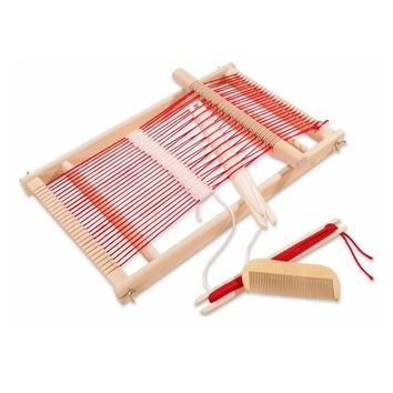 Baby Toys Wooden Weaving Loom Childrens Weaving Toy Educational Gift