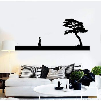 Vinyl Wall Decal Asian Decor Chinese Art Oriental China Stickers Unique Gift (234ig)