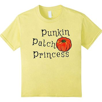 Kids Punkin Patch Princess Halloween T-shirt