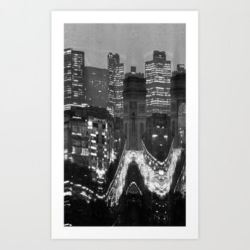 City Art Print by wobins