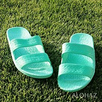 green classic jandals® -  pali hawaii sandals