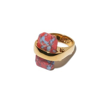 Lele Sadoughi Sandbar Ring- Sunset Blue - ShopBAZAAR