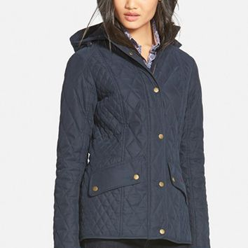 Women's Barbour 'Brocklane' Waterproof Quilted Jacket,