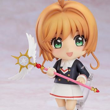 Sakura Kinomoto Tomoeda Junior High Uniform Version - Nendoroid - Cardcaptor Sakura: Clear Card (Pre-order)