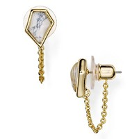 Alexis BittarMiss Havisham Chain Stud Earrings