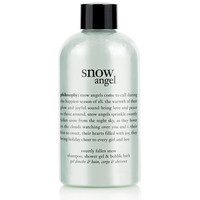 snow angel | shampoo, shower gel & bubble bath | philosophy