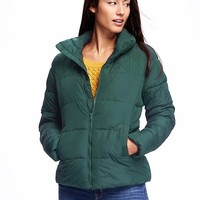 Frost Free Quilted Jacket for Women | Old Navy