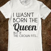 IF THE CROWN FITS..