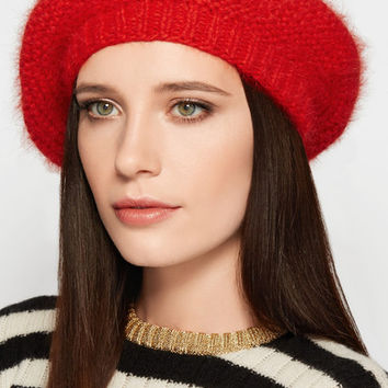 Jennifer Behr - Crocheted angora beret