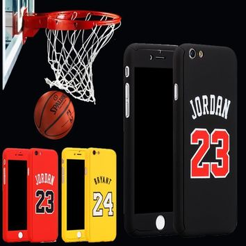 New Jordan 23 Kobe Bryant Curry Basketball Case for capinhas iPhone 7 7plus 6 6s plus