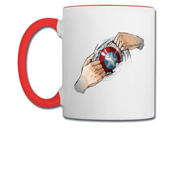 captain america - Coffee/Tea Mug