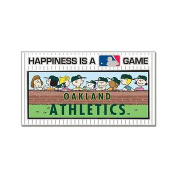 OAKLAND ATHLETICS PEANUTS GANG HAPPINESS IS A GAME COLLECTOR PIN NEW WINCRAFT