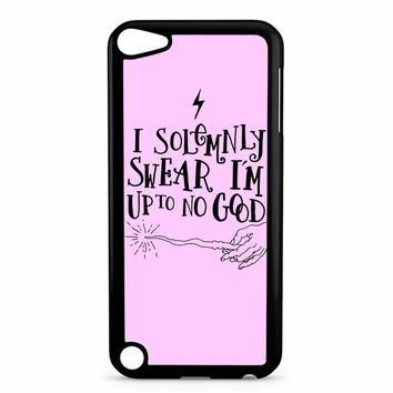 I Solemnly Swear That I Am Up To No Good iPod Touch 5 Case