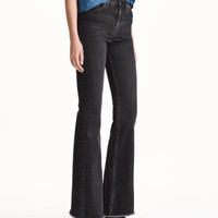 H&M Flare High Jeans $39.99