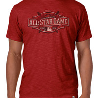 Cincinnati Reds '47 Brand Fashion T-Shirt - Red MLB All Star 2015 Scrum Short Sleeve Fashion Tee