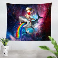 Cowboy Cat Tapestry