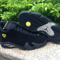 Air Jordan 14 Black Ferrari Basketball Shoes 41-47