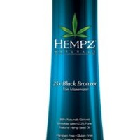 Supre Hempz 25x Bronzer - Dark Natural Looking Color 10.1 Oz