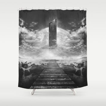 Some day soon Shower Curtain by HappyMelvin