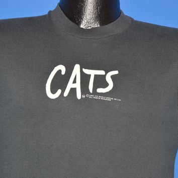 80s Cats The Musical Cat Eyes Sleeveless t-shirt Small