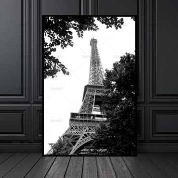 Canvas painting  Art Wall Picture Picture art print picture home decor  Black and white picture Wall art print for living room
