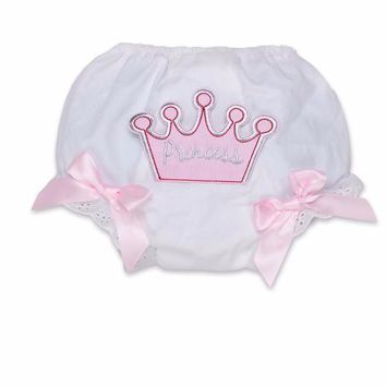 Princess Cotton Baby Bloomers Diaper Cover Tutu