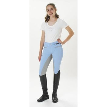 Kentucy Colorado City Full Seat Breech - Shaddow Blue/Grey