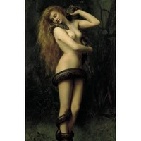 Lilith Premium Giclee Print by John Collier at Art.com