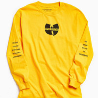 Wu-Tang Long Sleeve Tee | Urban Outfitters