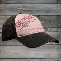 Country Girl ® Logo Camo Cap - Country Fashion Clothing
