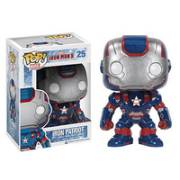 Iron Man 3 Iron Patriot Pop Vinyl Bobblehead Figure