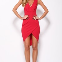 What A Girl Wants Dress Red