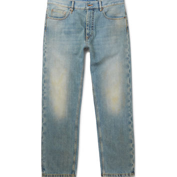 Marc Jacobs - Faded Washed-Denim Jeans