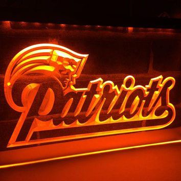 ONETOW LD071- New England Patriots Soccer   LED Neon Light Sign home decor  crafts