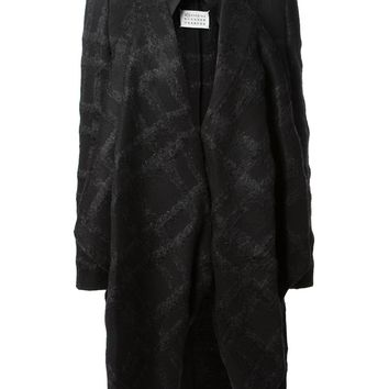 Maison Martin Margiela oversized plaid coat