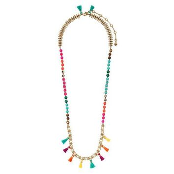 Bazaar Convertible Tassel Necklace + Bracelet by Chloe + Isabel