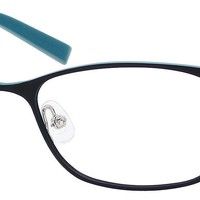 Juicy Couture Women's Rectangular Eyeglasses JU109, 51/16