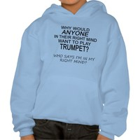 Right Mind Trumpet Hooded Pullover