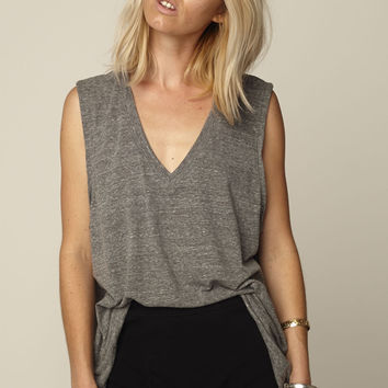 MUSE tank heather grey