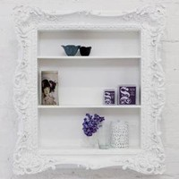 ruffle frame shelf - $0.00 : brocade home