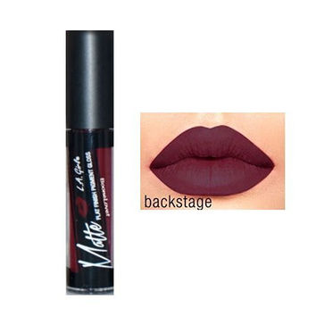 L.A. Girl Matte Pigment Lip Gloss 844 Backstage