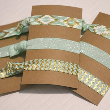 Mint To Be Hair Ties
