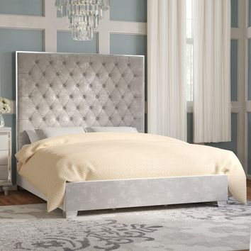 Lansford Upholstered Panel Bed