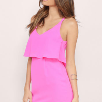 Flutter Me Up Dress $56