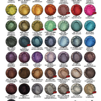 Buy 8 Mineral Eyeshadows