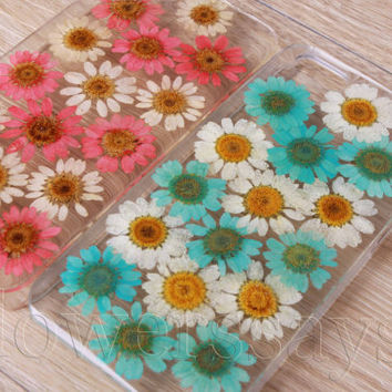 iPhone 6 case iPhone 6 plus Pressed Flower, iPhone 5/5s case, iPhone 4/4s case, 5c case Galaxy S4 S5 Note 2 note 3 Real Flower case NO:F136