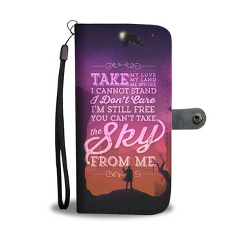 KUYOU You Can't Take The Sky From Me Firefly Serenity Wallet Phone Case