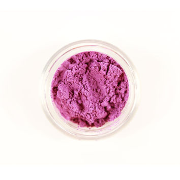 MAMA ROCK ME /  Natural Mineral Eyeshadow --  Large 10 Gram Jar / Purple Eye Shadow / Purple Mica Pigment / Eye Makeup