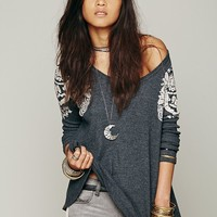 Free People Rockabilly Raglan Printed