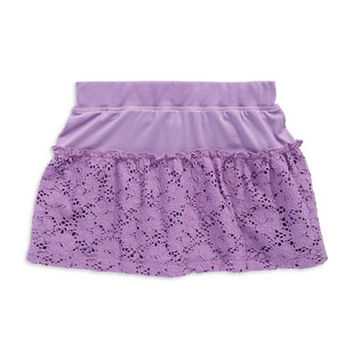 Design History Girls 2-6x Fluted Skirt